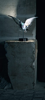 The Pigeon Desk Lamp